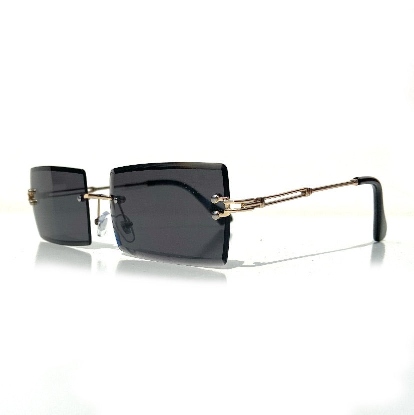 The Capone Shades Black / Gold