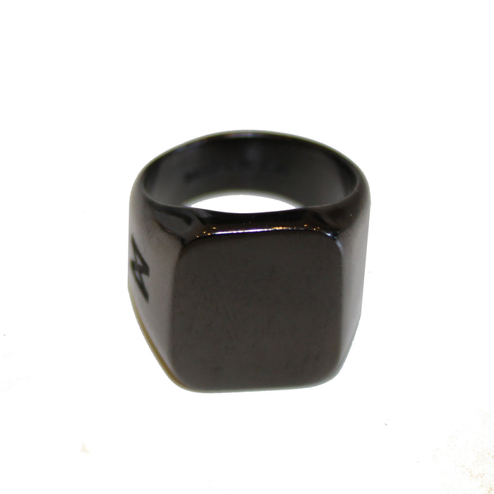 The Kilo Ring in Black
