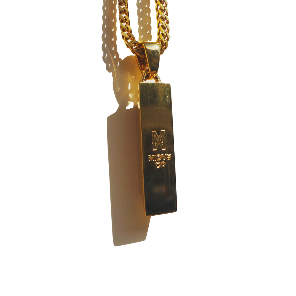 The 'Knox' Micro Pendant - Gold