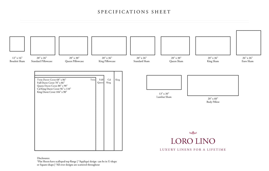 Loro Lino-Specs Sheet-plain
