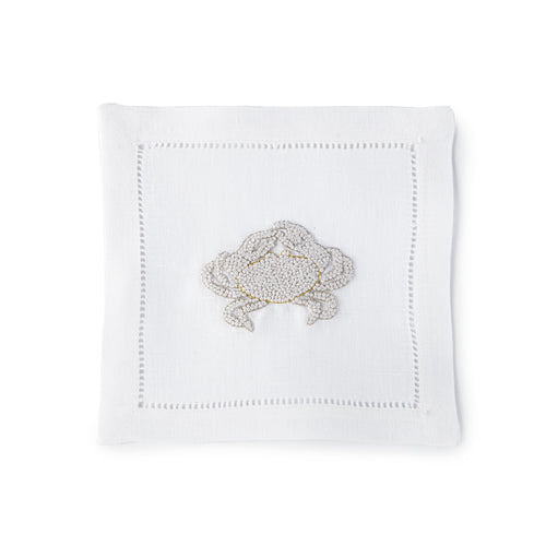 Crab Knots Cocktail Napkin 6x6 (Set of 4) - Loro Lino