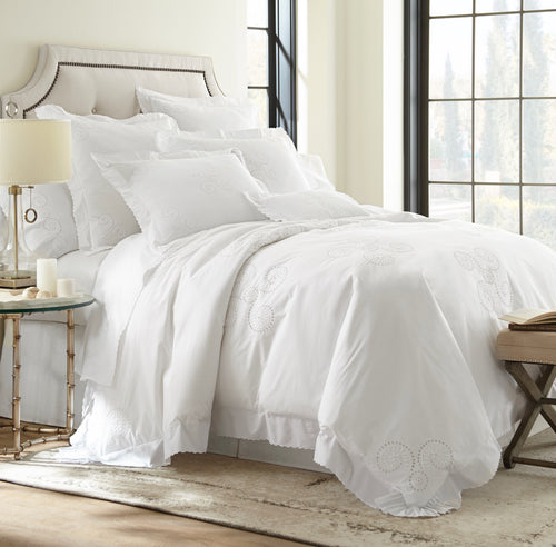 Nautilus Queen Duvet and Sheet Set - Loro Lino