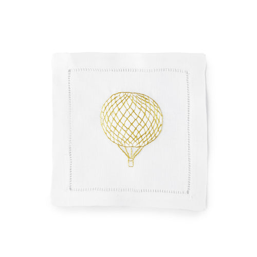 Balloon Cocktail Napkin 6x6 (Set of 4) - Loro Lino