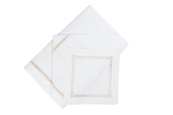 Sonoma Dinner/Luncheon Napkins Assortment (Set of 4) - Loro Lino