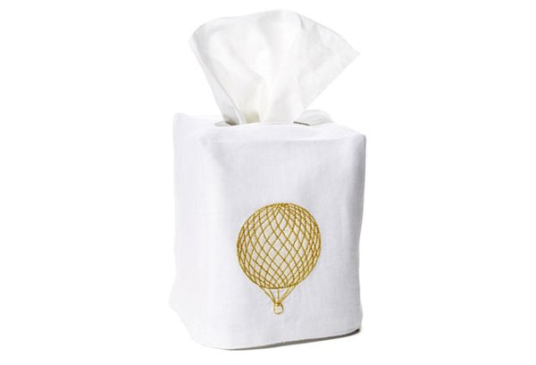 Balloon Tissue Box Cover - Loro Lino Fine Linens