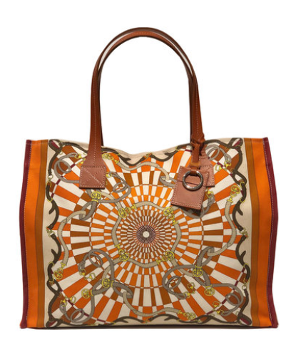 Fabulous Tote Florence in Orange - Loro Lino