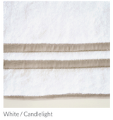 Bermuda Bath Towel SET with Face and Hand Towels  125.00 - Loro Lino