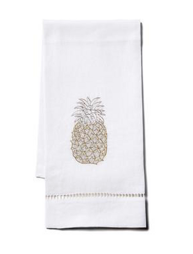 Pineapple Tip Towel - Loro Lino