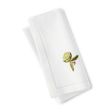 Lime Dinner/Luncheon Napkin Set 20x20 (Set of 4) - Loro Lino Fine Linens
