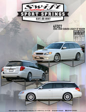 Swift Sports Springs 05-09 Subaru Legacy GT Wagon