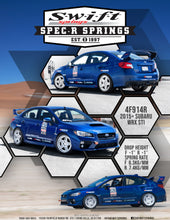 Swift Springs Spec R 2015+ Subaru WRX STI