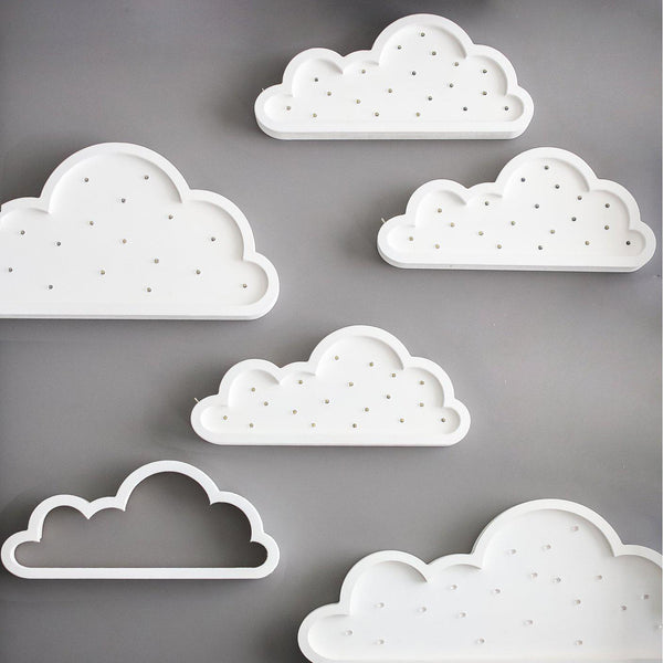 Cloud Marquee Natural White Light-Marquee Art-Pulp Function