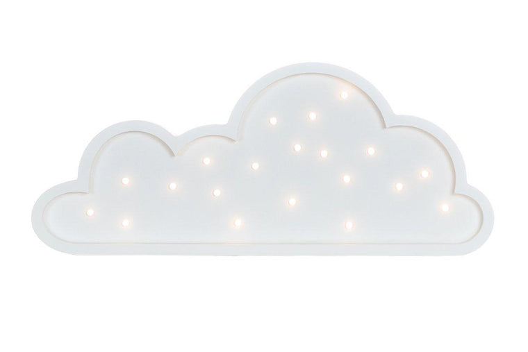 Cloud Marquee Warm White Light Non-Battery Operated