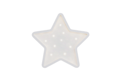 Star-Mini Marquee Warm White Light, Non-Battery Operated