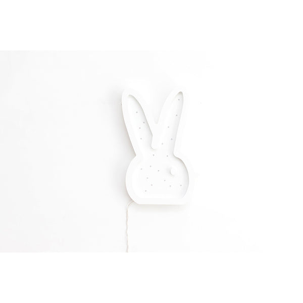 Bunny Head Marquee Warm White Light-Marquee Art-Pulp Function