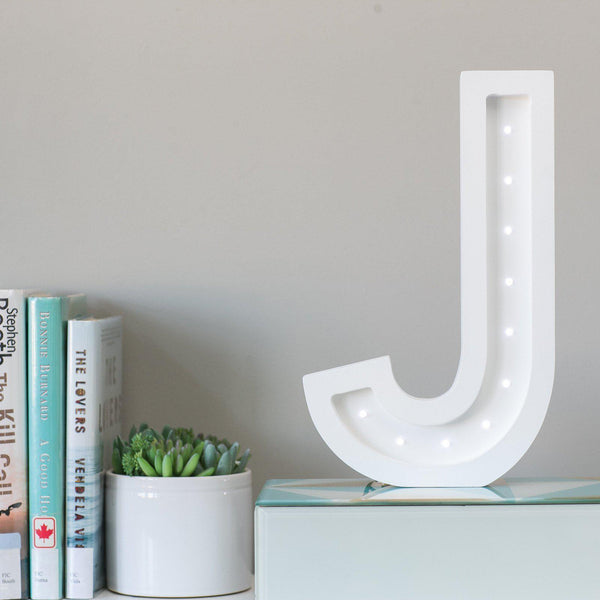 "12"" / 18"" Alphabet Marquee - J-Marquee Character-Pulp Function"