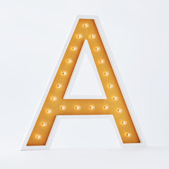 "36"" Alphabet Marquee - U [SECONDS SALE!]-Marquee Character-Pulp Function"