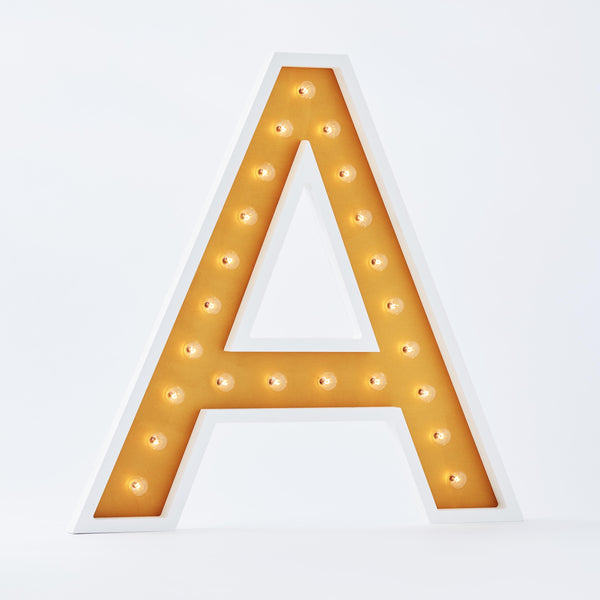 "36"" Alphabet Marquee - W [SECONDS SALE!]-Marquee Character-Pulp Function"