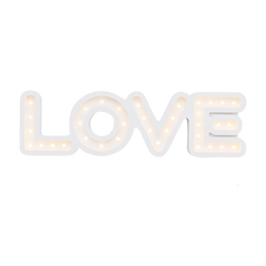 "48"" L.O.V.E Marquee-Marquee Word-Pulp Function"