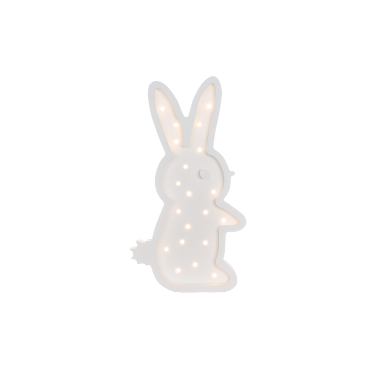 Bunny Marquee Warm White Light Non-Battery Operated