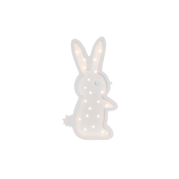 Bunny Marquee Natural White Light-Marquee Art-Pulp Function