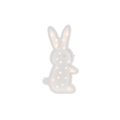 Bunny Marquee Light with Paula & Waffle-Marquee Art-Pulp Function