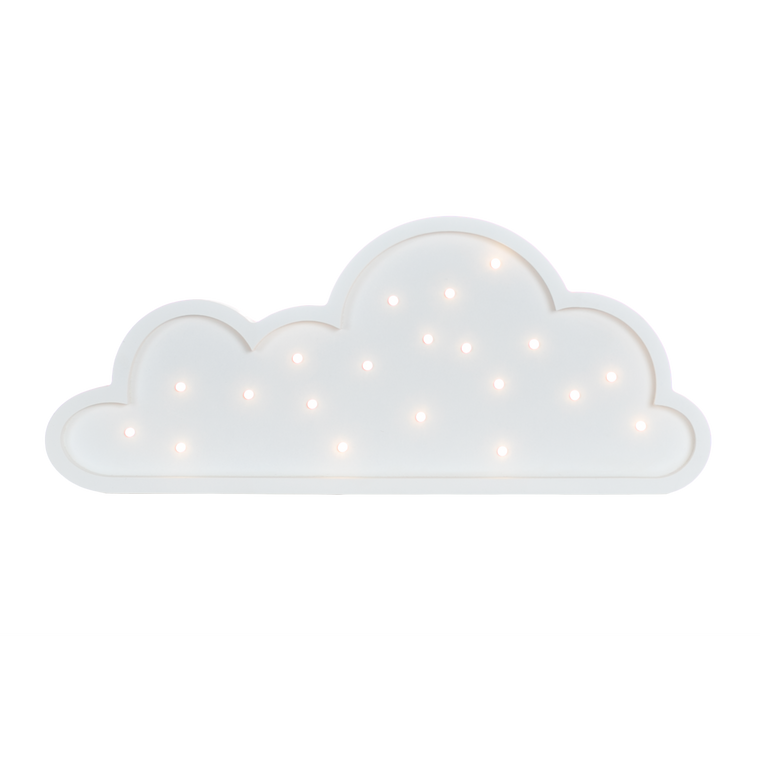 Cloud Marquee Warm White Light