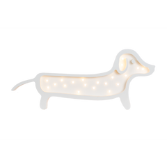 Dachshund Marquee Cool White Light-Marquee Art-Pulp Function