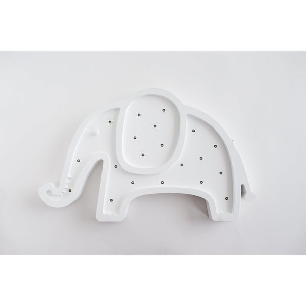 Elephant Marquee Warm White Light-Marquee Art-Pulp Function