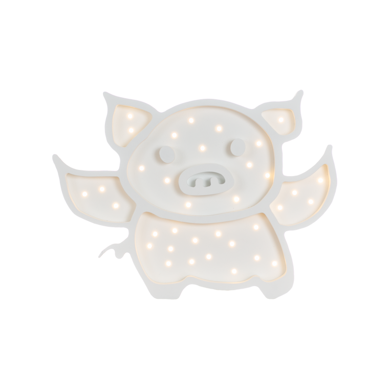 Flying Pig Marquee Warm White Light