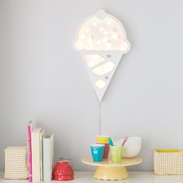 Ice Cream Marquee Warm White Light-Marquee Art-Pulp Function