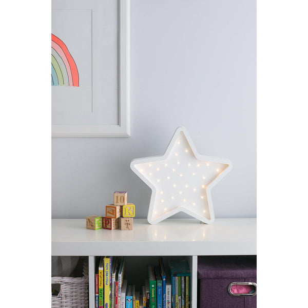 Star Marquee Warm White Light, Non-Battery Operated-Marquee Art-Pulp Function