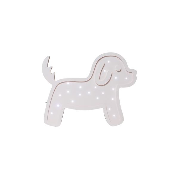 Waffle Dog Marquee Natural White Light-Marquee Art-Pulp Function