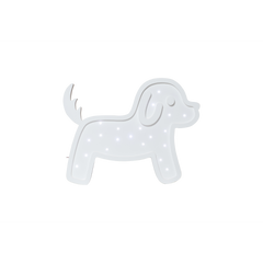 Waffle Dog Marquee Light with Paula & Waffle-Marquee Art-Pulp Function