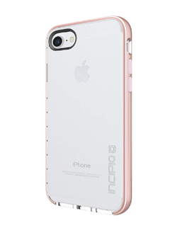 Incipio Octane Lux for iPhone 7/8 - Clr/Iridescent Rose Gold