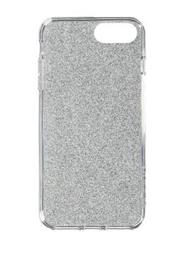 Incipio DS Clear Glitter-iPhone 6/7/8+ -Midnight Glitter