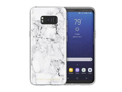 Rebecca Minkoff Sheer Case for Samsung GS8 - Marble