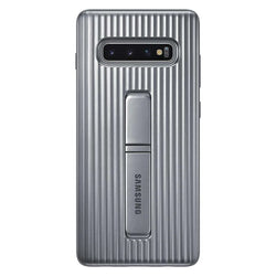 Samsung Protective Standing Cover Suits Samsung Galaxy S10+ - Silver