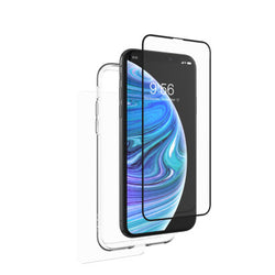 Zagg InvisibleShield Glass+ Full Body with Bumper Case for iPhone X/XS
