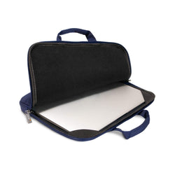 Everki ContemPRO Laptop Sleeve w/ Memory Foam - 13.3-Inch - Navy