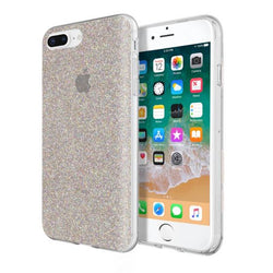 Incipio DS Clear Glitter - iPhone 7/8+ - Multi Glitter