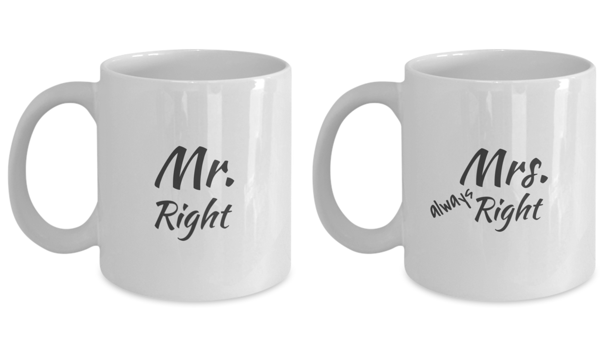 Couples Coffee Mug Sets - Engagement, Wedding & Anniversary Gifts for Fiance, Boyfriend, Girlfriend, Husband, Wife - RLT Source