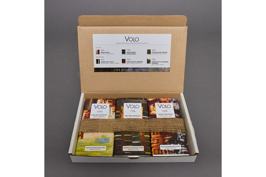 THE VOLO COLLECTION<br /><span><br />Six Assorted 2.5 oz bars</span>