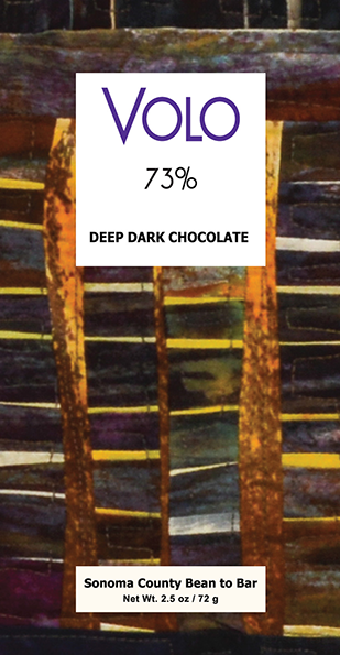 73% DEEP DARK CHOCOLATE<br /><span>handmade from deeply roasted cacao<br />2.5oz bar</span>