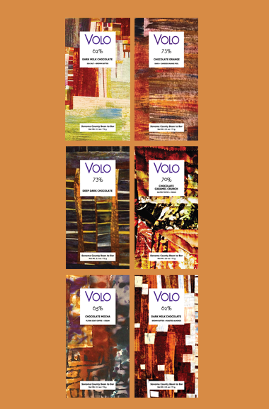 PERFECTUS - Club VOLO Chocolate Subscription of 6 bars