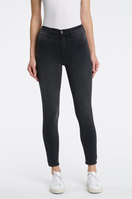 Amanda High Rise Seamed Skinny - 6AM