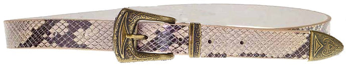 Koda Belt Brown Snake