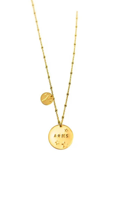 Written In The Stars Zodiac Necklace - Gold Filled