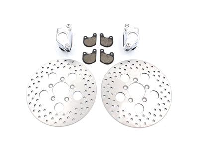 "10"" DUAL DISC FRONT CALIPER DISC KIT"