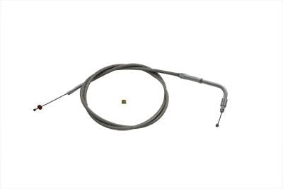 BTE SS THROTTLE CABLE DELLORTO 39""